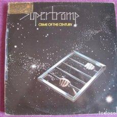 Discos de vinilo: LP - SUPERTRAMP - CRIME OF THE CENTURY (SPAIN, AM RECORDS 1977). Lote 133763046