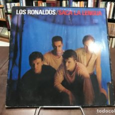Discos de vinilo: SACA LA LENGUA. LOS RONALDOS LP 1988. Lote 133764934
