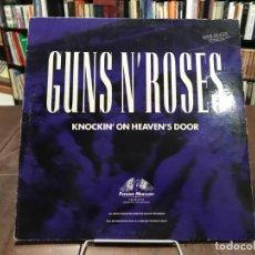 Discos de vinilo: KNOCKIN' ON HEAVEN'S DOOR. GUNS N' ROSES LP 1992. Lote 133765038