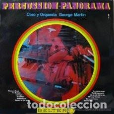 Discos de vinilo: LP CORO Y ORQUESTA DE GEORGE MARTIN ( PRODUCTOR DE THE BEATLES ) PERCUSSION-PANORAMA. Lote 133767854
