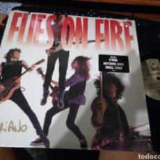 Discos de vinilo: FLIES ON FIRE LP 1989. Lote 133769069