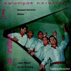 Discos de vinilo: LOS IRUÑA'KO – ESTAMPAS NAVARRAS . Lote 133769162