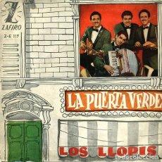 Discos de vinilo: LOS LLOPIS ?– LA PUERTA VERDE (ESPAÑA, 1960). Lote 133769274