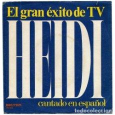 Discos de vinilo: LOS MISMOS – EL GRAN ÉXITO DE TV HEIDI CANTADO EN ESPAÑOL (ESPAÑA, 1975). Lote 133769390
