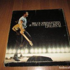 Discos de vinilo: BRUCE SPRINGSTEEN & THE E STREET BAND - LIVE 1975- 85 - BOX 5 LP,S - SPAIN - CBS - T -. Lote 133770170