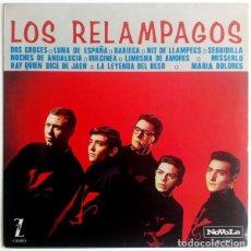 Discos de vinilo: LOS RELAMPAGOS – LOS RELAMPAGOS (ESPAÑA, 1965). Lote 133771010