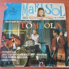 Discos de vinilo: MARISOL TOMBOLA +3 ZAFIRO 1962. Lote 133771050