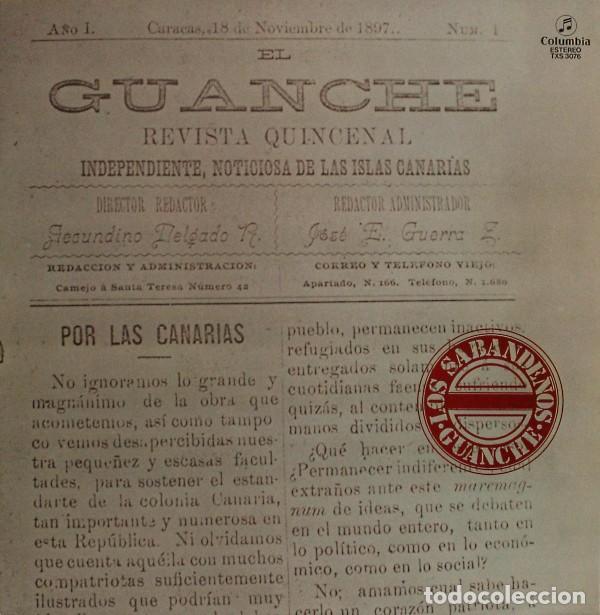 LOS SABANDEÑOS – GUANCHE (ESPAÑA, 1977) (Música - Discos - LP Vinilo - Étnicas y Músicas del Mundo)