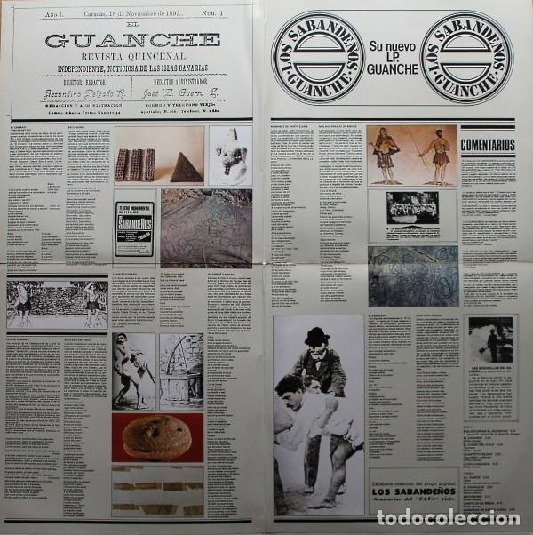 Discos de vinilo: Los Sabandeños – Guanche (España, 1977) - Foto 4 - 133771406