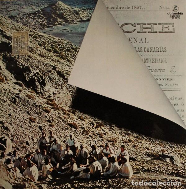 Discos de vinilo: Los Sabandeños – Guanche (España, 1977) - Foto 5 - 133771406