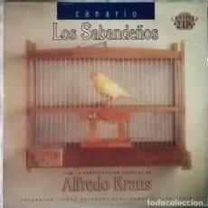 Discos de vinilo: LOS SABANDEÑOS – CANARIO (ESPAÑA, 1993. 2 × VINYL, LP, ALBUM). Lote 133771906