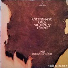 Discos de vinilo: LOS SABANDEÑOS – CANTATA DEL MENCEY LOCO (ESPAÑA, 1977). Lote 133772150