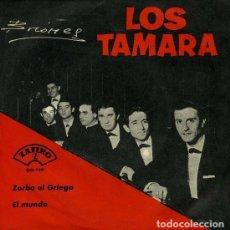 Discos de vinilo: LOS TAMARA – ZORBA EL GRIEGO (ESPAÑA, 1965). Lote 133773878