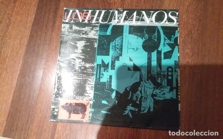 LOS INHUMANOS-ERES UNA FOCA.MAXI (Música - Discos de Vinilo - Maxi Singles - Grupos Españoles de los 70 y 80)