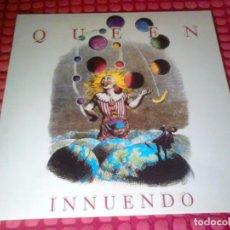 Discos de vinilo: QUEEN INNUENDO SPAIN 1991 CON ENCARTE LP. Lote 133775254