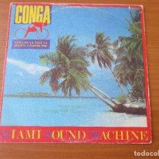 Discos de vinilo: MIAMI SOUND MACHINE CONGA/ MUCHO MONEY EPIC 1985. Lote 133776518