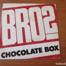 Discos de vinilo: BROS CHOCOLATE BOX PROMO UNA SOLA CARA GRABADA CBS 1989. Lote 133777158