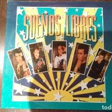 Discos de vinilo: SUEÑOS LIBRES.LP. Lote 133777630