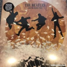 Discos de vinilo: THE BEATLES * LP* LIVE IN JAPAN 1966 * LTD 1000 COPIAS NUMERADAS * VINILO AMARILLO * PRECINTADO. Lote 197232358