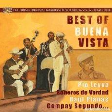 Discos de vinilo: BEST OF BUENA VISTA * LP 180G * MIEMBROS ORIGINALES DE BUENA VISTA SOCIAL CLUB * PRECINTADO. Lote 133778298