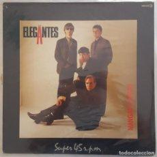 Discos de vinilo: MAXI - LOS ELEGANTES - MANGAS CORTAS - ZAFIRO OOS-633 - 1984 - PROMO. Lote 133779334