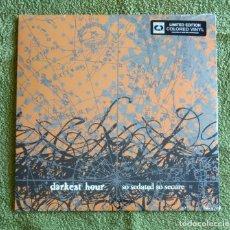 Discos de vinilo: DARKEST HOUR - SO SEDATED SO SECURE 12'' LP PRECINTADO - DEATH METAL METALCORE. Lote 133780262