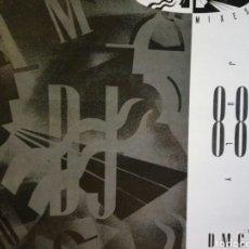 Discos de vinilo: DJ MEMBERS ONLY, DMC MIX JULY 88 MIXES1. Lote 133782087