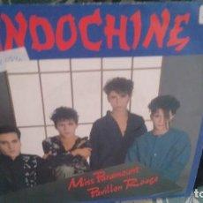 Discos de vinilo: SINGLE (VINILO) DE INDOCHINE AÑOS 80. Lote 133789218