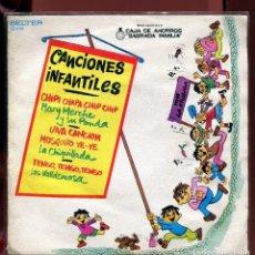 Discos de vinilo: CANCIONES INFANTILES. BELTER 1973. . Lote 133789246