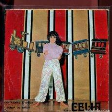 Discos de vinilo: CELIA. IV FESTIVAL DE LA CANCIÓN. TVE. FANTASMAS A GOGO. PALOBAL 1970. Lote 133789354