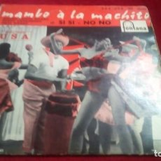 Discos de vinilo: MAMBO À LA MACHITO. Lote 133790146