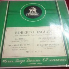 Discos de vinilo: ODEON - ROBERTO INGLEZ. Lote 133791350