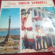 Discos de vinilo: EMILIO VENDRELL. Lote 133792502