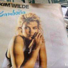 Discos de vinilo: SINGLE (VINILO) DE KIM WILDE AÑOS 80. Lote 133792778