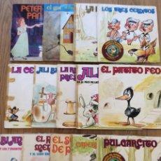 Discos de vinilo: 15 DISCOS CUENTOS INFANTILES. Lote 133792931