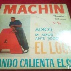 Discos de vinilo: MACHIN. Lote 133793898