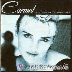 Discos de vinilo: CARMEL - EVERYBODY'S GOT A LITTLE ...SOUL - LP SPAIN 1987. Lote 133794990