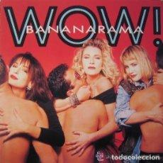 Discos de vinilo: BANANARAMA, WOW, LP SPAIN 1987. Lote 133796518