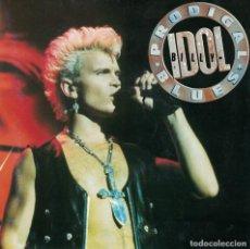 Discos de vinilo: BILLY IDOL - PRODIGAL BLUES / THE LOVELESS (SINGLE PROMO ESPAÑOL, EMI 1990, PORTADA DOBLE). Lote 133796974