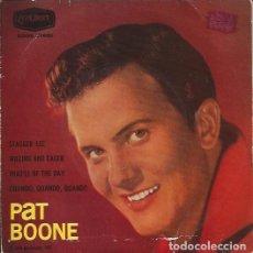 Discos de vinilo: EP- PAT BOONE STAGER LEE LONDON 71661 SPAIN 1962. Lote 133804390