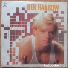 Discos de vinilo: DEN HARROW, FUTURE BRAIN SINGLE SPAIN 1985 . Lote 133805174