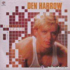 Discos de vinilo: DEN HARROW, FUTURE BRAIN SINGLE PROMO SPAIN 1985. Lote 133805254