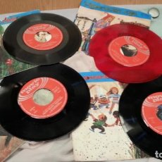 Discos de vinilo: DISCOS SINGLES DE CUENTOS INFANTILES. COLECCIÓN DE 4 DISCOS. AÑOS 60-70. Lote 133809418