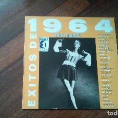 Discos de vinilo: EXITOS DE 1964. PEKENIKES,LONE STAR,LOS HH,JAVALOYAS..LP. Lote 133812146