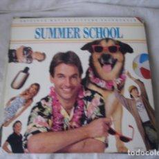 Discos de vinilo: SUMMER SCHOOL ORIGINAL MOTION PICTURE SOUNDTRACK. Lote 195210533