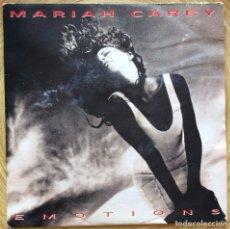 Discos de vinilo: MARIAH CAREY EMOTIONS SINGLE PROMOCIONAL ESPAÑOL. Lote 133818409