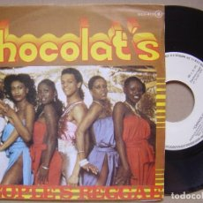 Discos de vinilo: CHOCOLAT´S - PEOPLE´S REGGAE + LOVELY GIRL - SINGLE 1979 - ZAFIRO. Lote 133828314