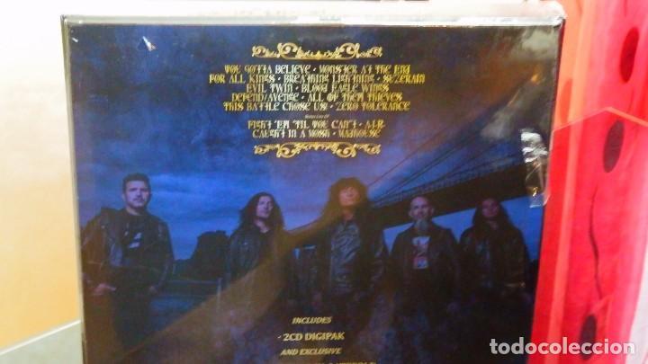 Discos de vinilo: Anthrax * BOX SET Superdeluxe *2lp picture + 2cd+poster+Slipmat * For All Kings * Caja Precintada - Foto 3 - 136216850