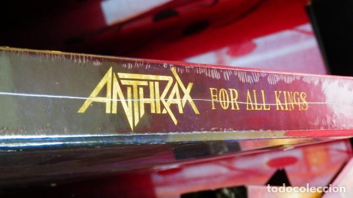 Discos de vinilo: Anthrax * BOX SET Superdeluxe *2lp picture + 2cd+poster+Slipmat * For All Kings * Caja Precintada - Foto 5 - 136216850