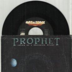 Discos de vinilo: PROPHET SINGLE SOUND OF A BREAKING HEART - CYCLE OF THE MOON 1988 U.S.A.. Lote 133837726